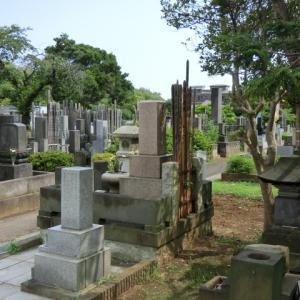 灼熱の墓参り