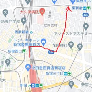 歌舞伎町の奥の方で見たもの