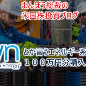 【米国株】$SWNとか言うエネルギー系の会社を100万円分購入