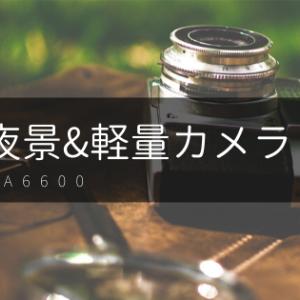 【海外旅行&夜景におすすめ】軽量一眼レフカメラ ソニー a6600 の紹介