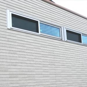 窓のサッシの色による外観のイメージ