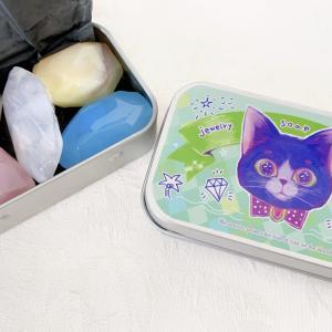 【お買い物で猫助け!】島猫ライフさんの宝石石鹸【おうちのない猫の為の取り組み】