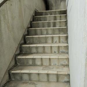 ついに喫しました!! 階段上がり