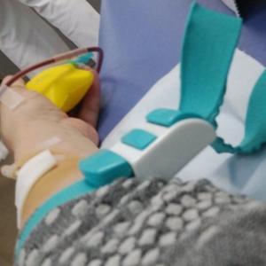 自己血 採取1回目 を終わって