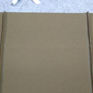 倉敷帆布と栃木レザーのビジネストートバッグ製作 その2 ミシン縫いと見栄え処理