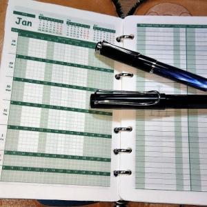 システム手帳リフィルを自作してみた その11 万年筆に最適な用紙グラフィーロで万年筆専用リフィルを作ってみた