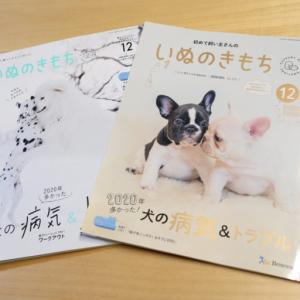 「いぬのきもち」12月号の日本スピッツ特集に掲載されました!