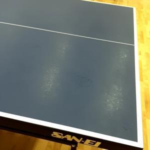 【卓球】練習が出来る喜び