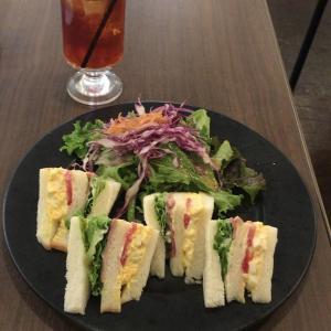 サンドイッチ モーニング