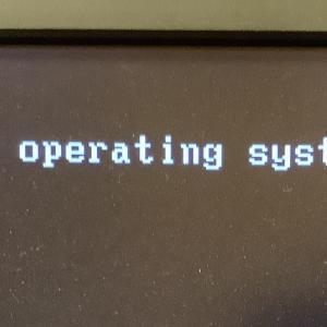 DELL パソコン エラー表示 Missing operating system