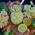 花粉症対策におすすめ!エルダーフラワーコーディアルの作り方