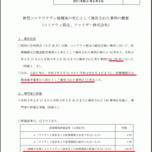 「ワクチン接種は直ちに中止すべきです」と新潟大学岡田先生。スパイクタンパクが血小板にくっつく件の解説/できてから1年経っても動物実験データを出さないのはありえないこと