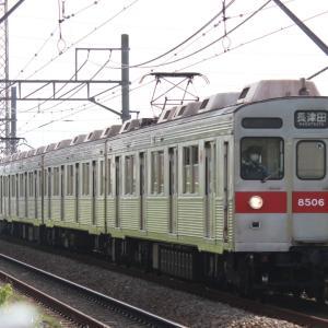 東急8500系 8606F 廃車回送