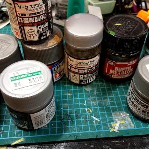 自宅にあるシルバー塗料(9種類)を比べてみた