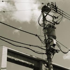 電線がカッコいい