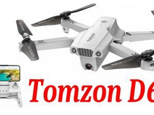 【Tomzon D65】コスパ最高!4Kカメラ・GPS・オプティカルフロー搭載トイドローン