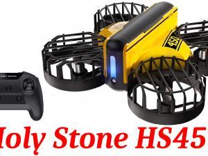 【HolyStoneHS450】小さな子供でも安心!障害物回避機能搭載の小型トイドローン