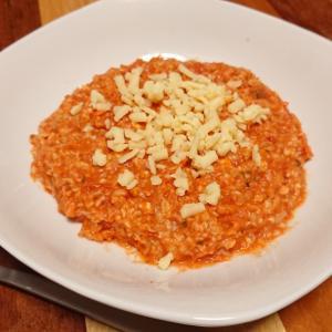 マジで万能なオートミール。調理も簡単で味も量もソコソコ満足感を得られるとか最高じゃない?!