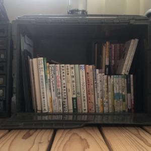 トラスココンテナ 横置きで 本棚活用