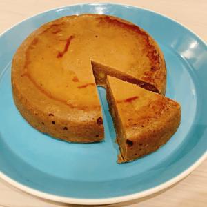 レシピ★炊飯器に入れて待つだけ♪さつまいもとバナナのプロテインケーキ