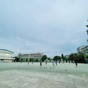 サッカーの午後
