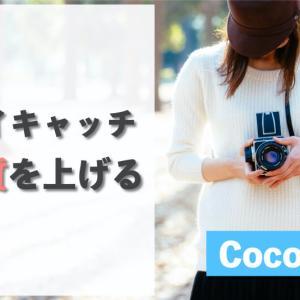 【Cocoon】アイキャッチの画質を綺麗にする