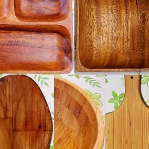 【木製食器・レビュー】我が家で活躍中の木製食器5種。使ってみて良かった点・困った点