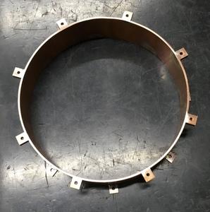 銅板 巻き加工
