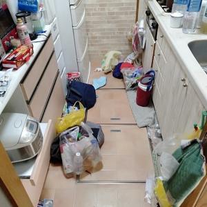 キッチンのなう。色々ヤバい現状