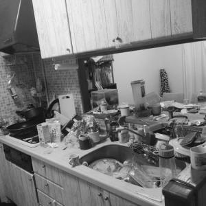 キッチン小片付け