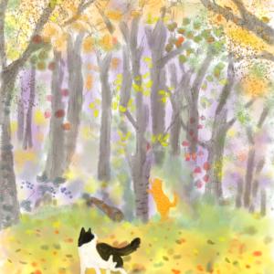 秋の雑木林で思うこと
