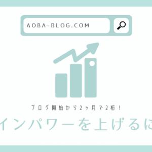 ブログ歴2ヶ月の初心者がドメインパワーを2桁に上げた方法