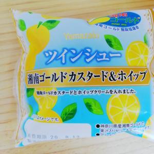 ヤマザキ シュークリーム 2020夏商品【湘南ゴールド&カスタードホイップ】