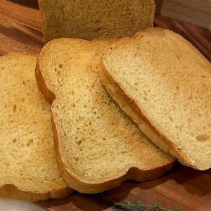HBで作るはちみつとバーモントカレーの食パン