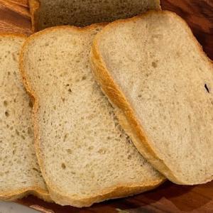 HBで作るたっぷりはちみつとすりおろしリンゴの食パン