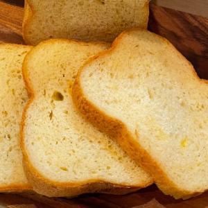 HBで作るチェダー&ゴーダのオトナのWチーズ食パン