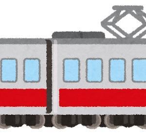 認知症母、電車に乗って病院へ