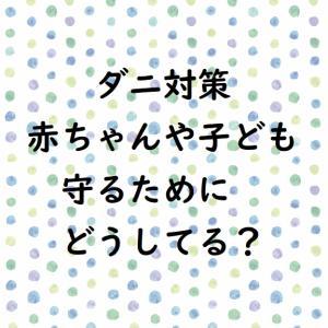 【ダニ対策】赤ちゃん子どもから守りたい!布団や寝室どうしてる?