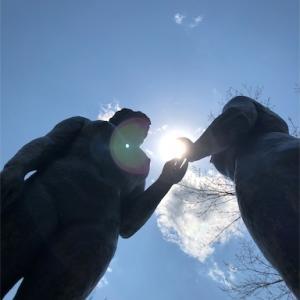 記憶旅行の旅     十和田湖 乙女の像