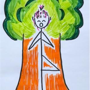 マイ ヨガ 7 Tree Pose (立木のポーズ)
