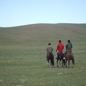 【モンゴル】遊牧民のお宅にホームステイ