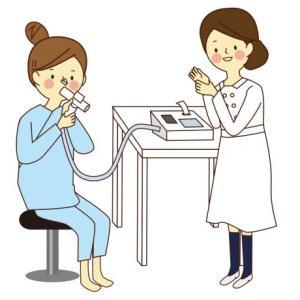 【喘息】呼吸機能検査について【解説してみた】