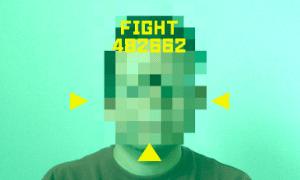 【OpenCV】スカウターっぽい表示をするプログラムを作ってみた