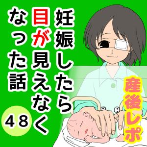 妊娠したら目が見えなくなった話【48】