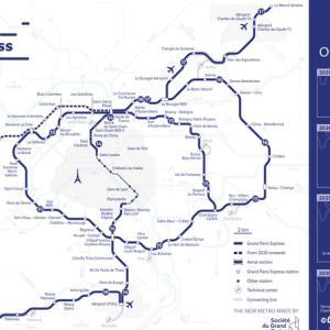 新線続々建設中!パリの公共交通路線網