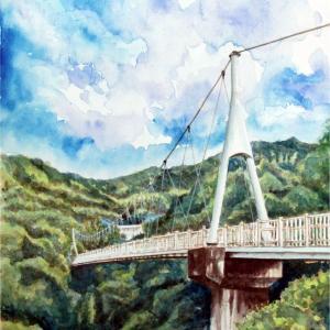 2020.05 加茂ゆらりんこ橋(糸島市)