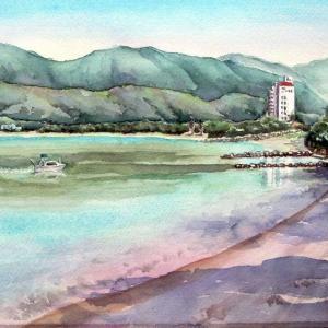 2021.08 夏の大入海岸の景観(糸島市)