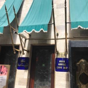 【エジプト旅行】カイロ,ハーン ハリーリ市場のカフェでエジプトスイーツ♪