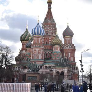 【ロシア旅行】アエロフロートのトランジットで初めてのモスクワ半日滞在 #2