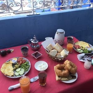 【モロッコ旅行】青い街,シャウエンで泊まった、Dar Sababa